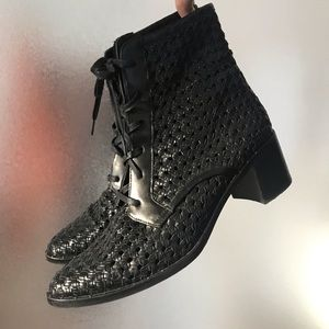 Freda Salvador Woven Ace Boots